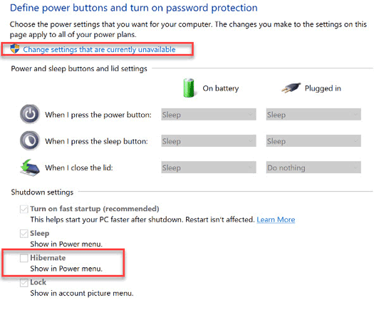 Change-Settings-that-are-currently-unavailable-windows-10