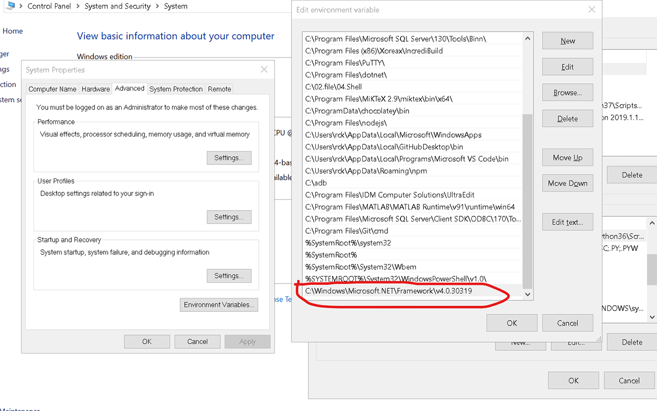 How do I run msbuild from the command line using Windows SDK