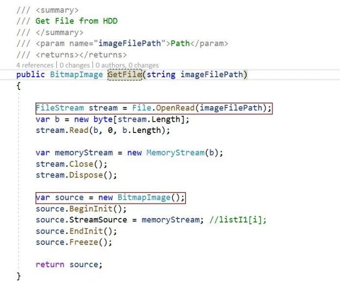 FileStream to byte array c sharp