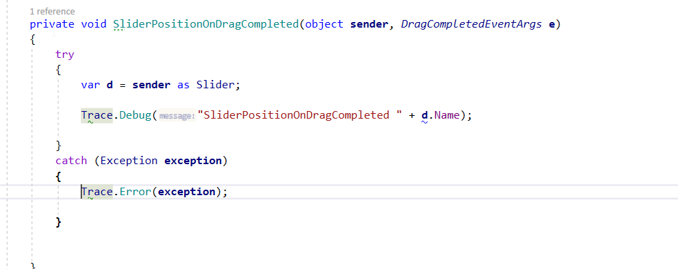 Slider Thumb DragCompleted Event WPF